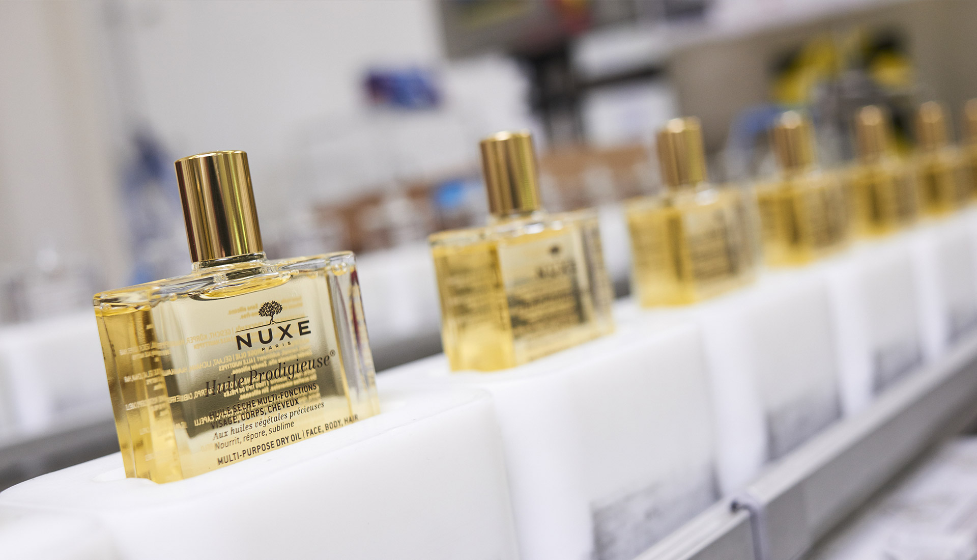Reportage photo d'entreprise NUXE