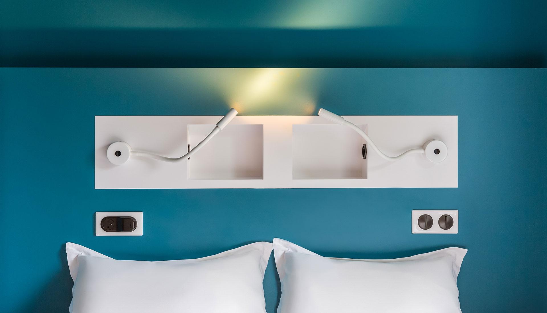 Photographie design d'intérieur hôtels